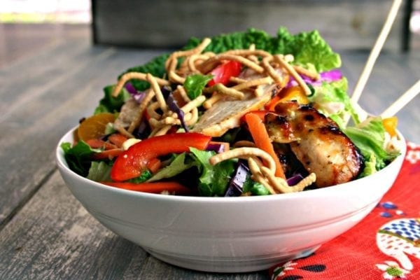 Asian Chicken Salad - Life, Love, and Good Food