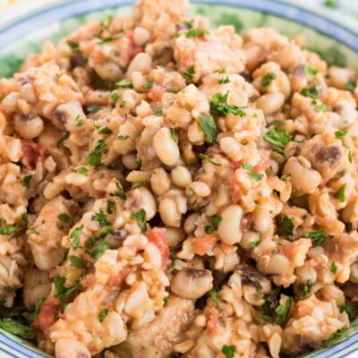 One Pot Black Eyed Peas and Rice with Chicken