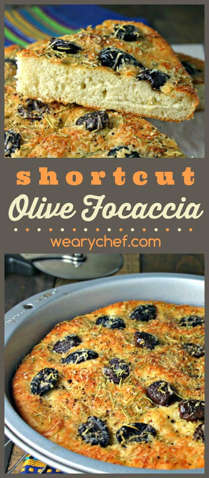 Use premade pizza dough for an easy shortcut to perfect homemade focaccia!