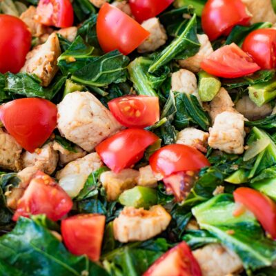 Pork and Greens Stir Fry