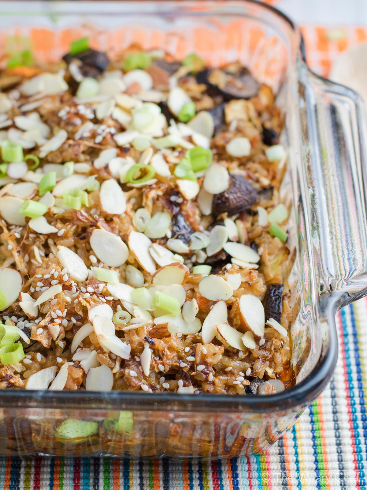 Forget boring old tuna casserole, and try this Teriyaki Tilapia Casserole instead!