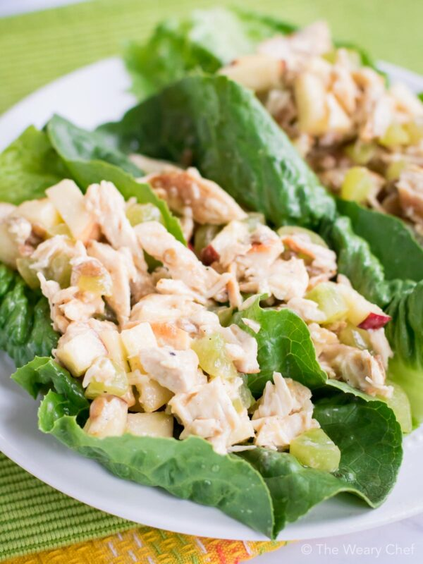 Whip up a batch of this Waldorf Chicken Salad for quick lunches all week long!