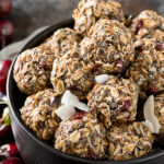 Cherry Chocolate Almond Energy Balls