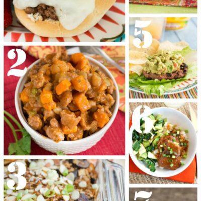 Weekly Dinner Menu #190: Casseroles, Burgers, and More