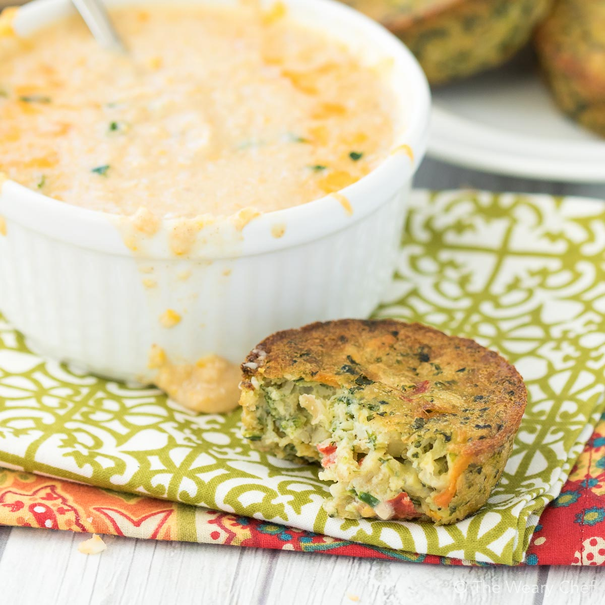Wholesome and delicious Garden Lites veggie cakes pair perfectly with this easy Vegetarian Corn Chowder recipe!