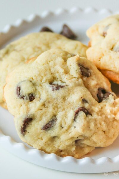 Never Fail Chocolate Chip Cake Cookies
