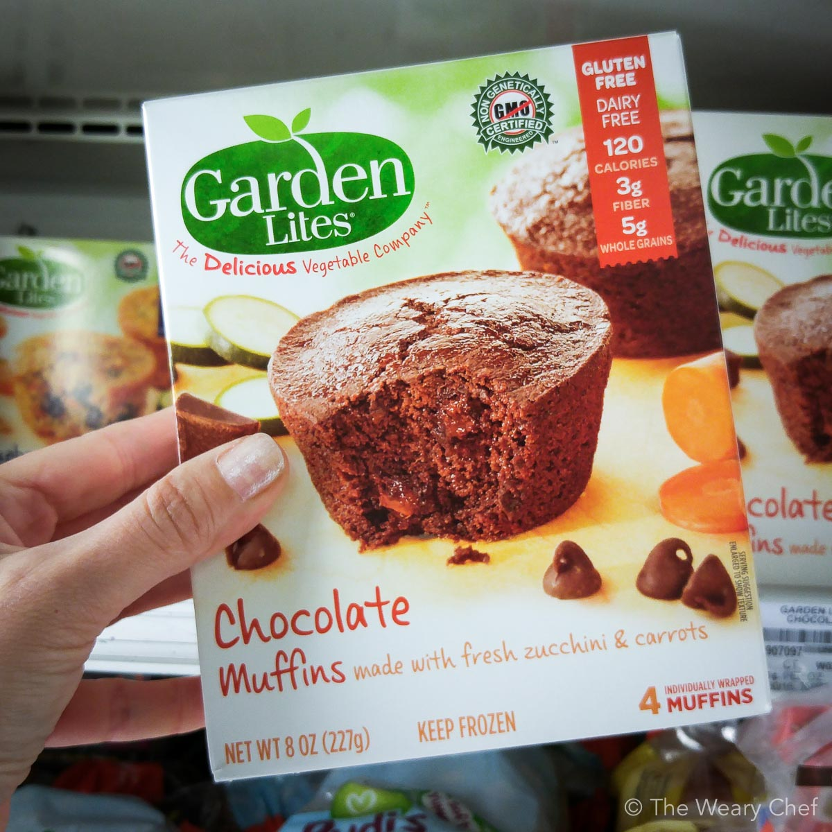 Look for @GardenLites muffins and savory items in your grocery freezer section. They are loaded with veggies and taste great too! #HookedOnVeggies