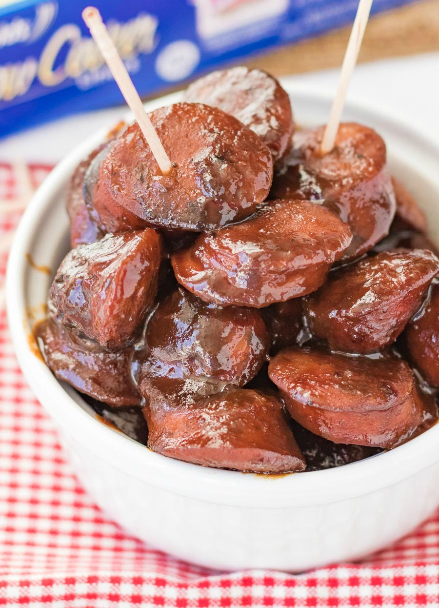 Cocktail Sausages Slow Cooker
