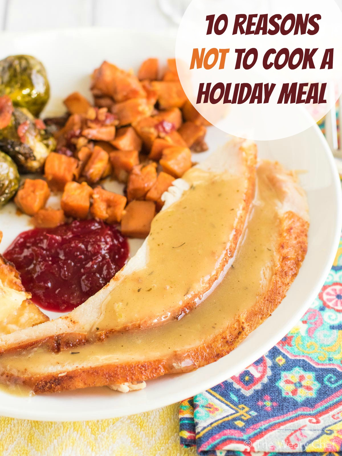 Planning your next holiday dinner? Find out why you should order a pre-made meal instead!