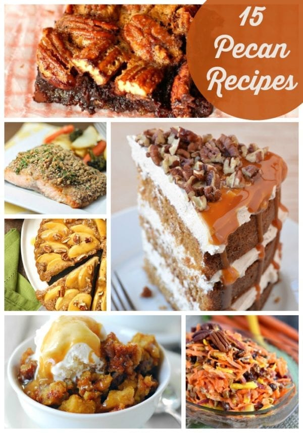 15 of the best pecan recipes!
