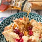 Sour Cream Cranberry French Toast Casserole