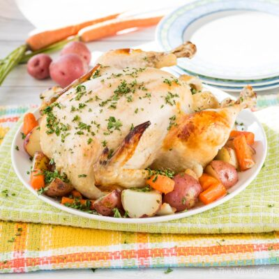 Ranch Dutch Oven Roast Chicken in Oven Bag