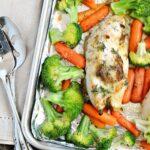 Dill Chicken Sheet Pan Dinner