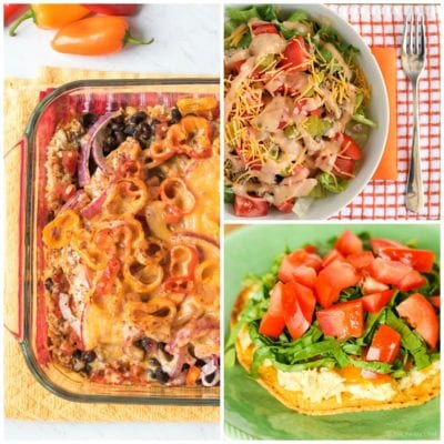 What's For Dinner? Weekly Meal Plan #201