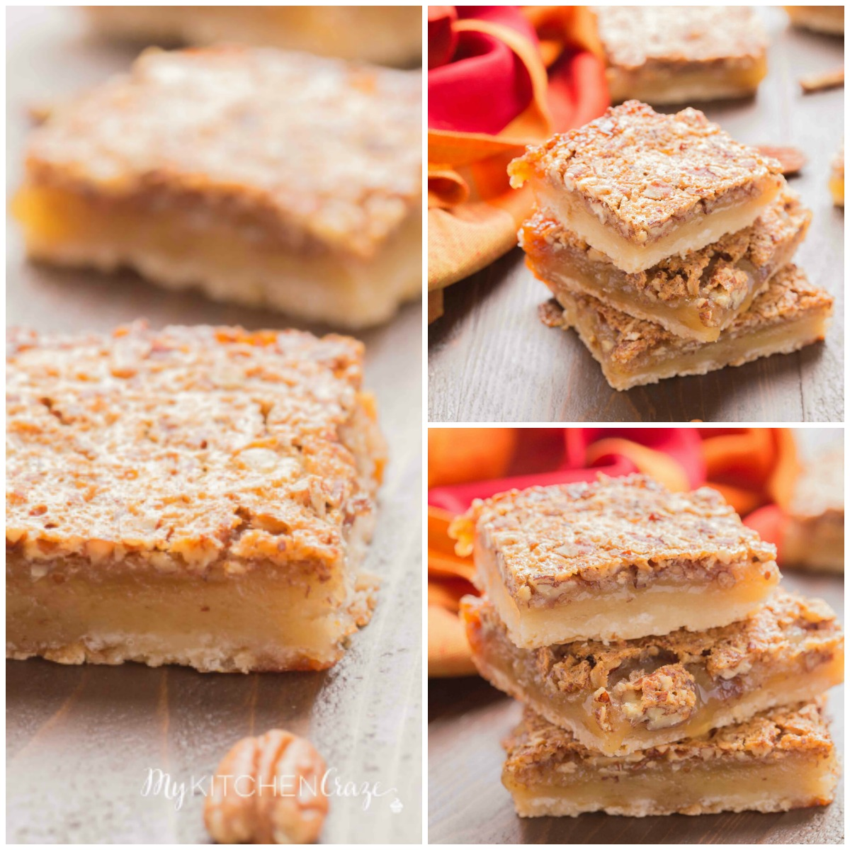 Pecan Pie Bars are a tasty, easy alternative to traditional pecan pie!