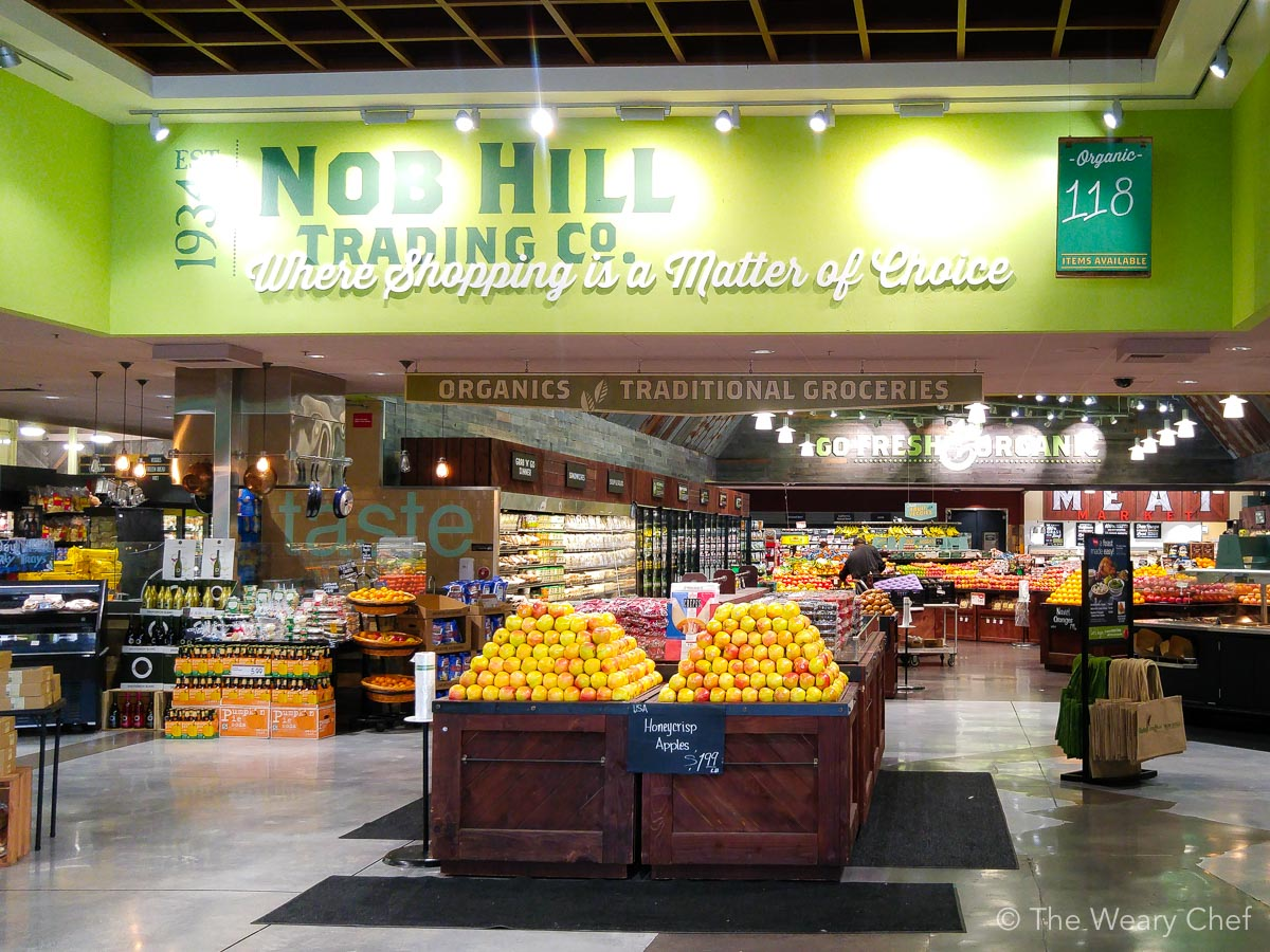 Nob Hill Foods and Raley's stores are beautiful places to shop!