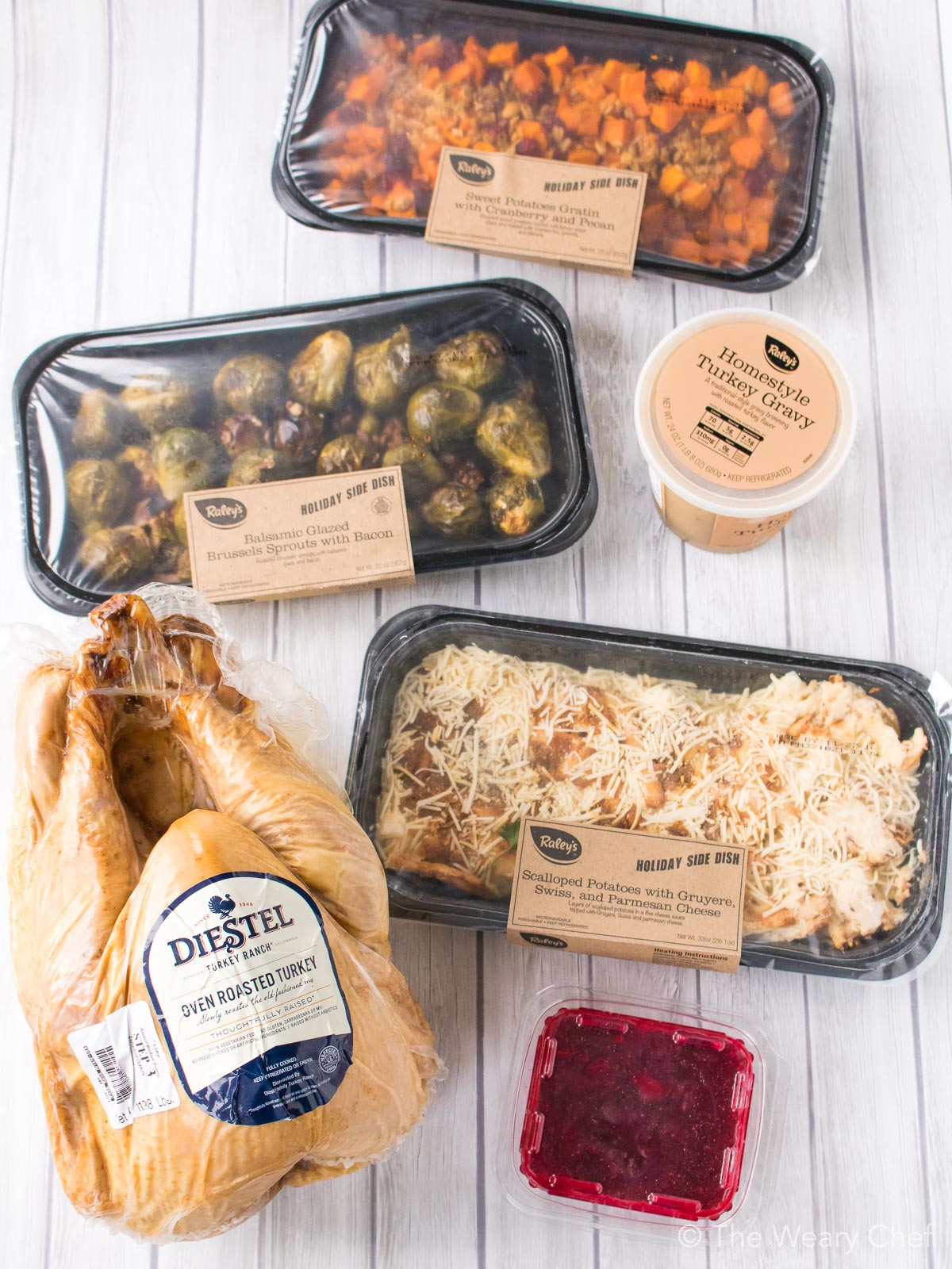 Everything you need for a perfect holiday meal is perfectly packaged from Raley's!