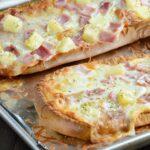 Hawaiian French Bread Pizza