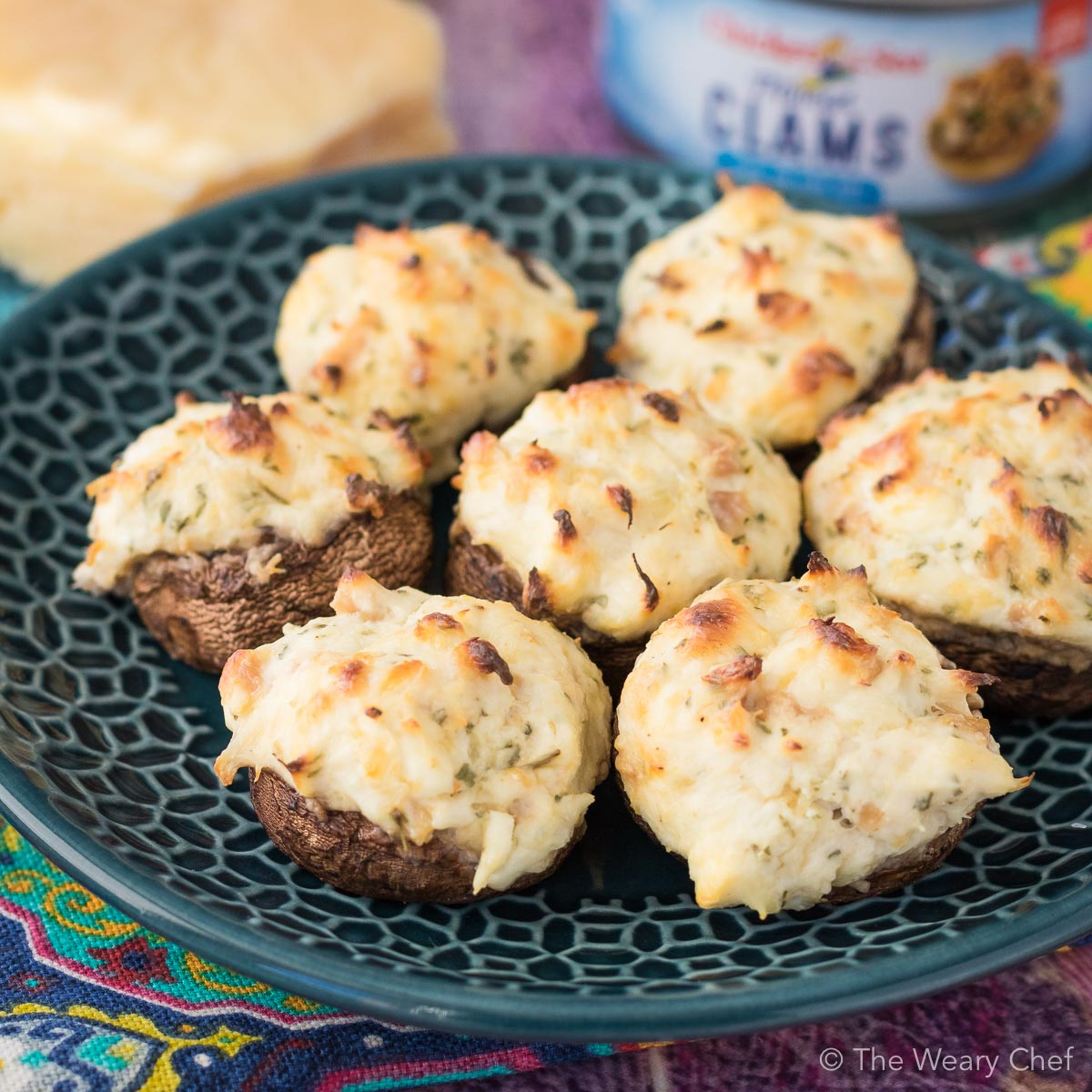 You only need a few simple ingredients to make these scrumptious Seafood Stuffed Mushrooms! They will be the start of any party!