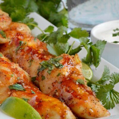 Honey Sriracha Chicken Tenders