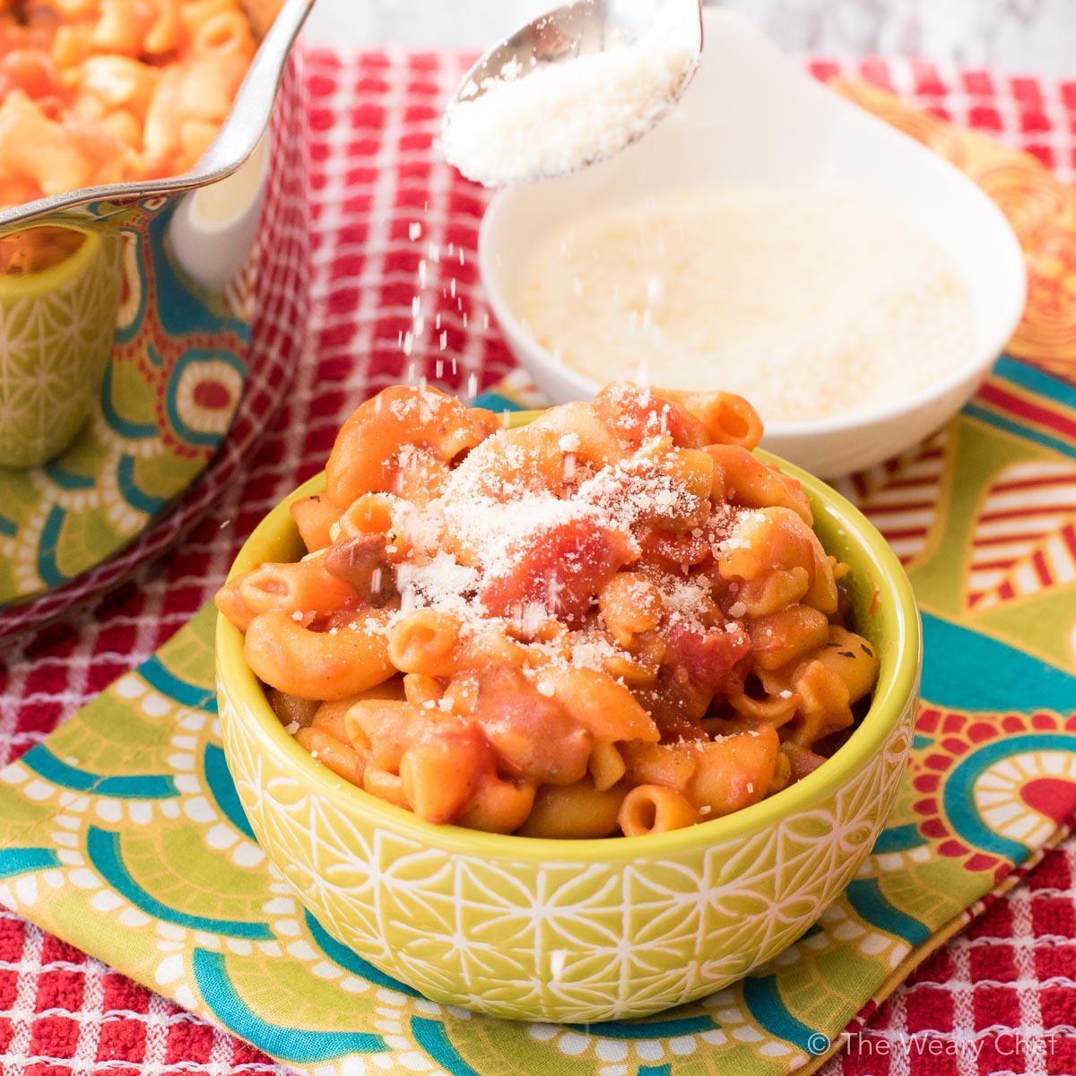 Macaroni and Tomatoes is an easy side dish that your family will love. Is this a classic recipe in your family?