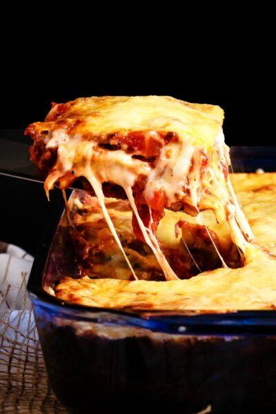 No Boil Ravioli Lasagna