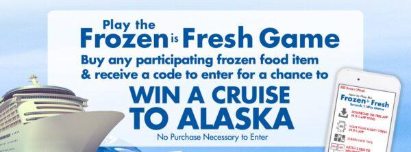 Smart & Final Frozen Foods Month Sweepstatkes