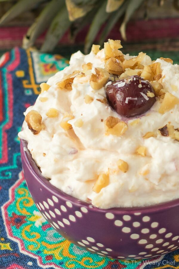 how to make ambrosia salad with cool whip