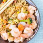 Sweet Chili Shrimp Sheet Pan Supper