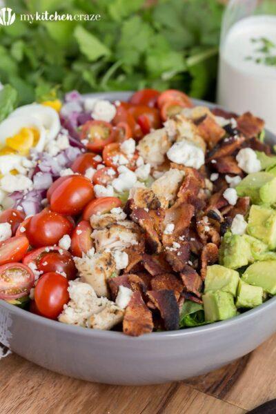 Favorite Chicken Cobb Salad