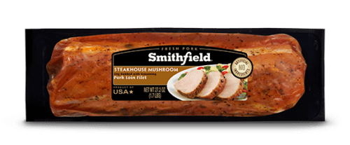 Smithfield Marinated Steakhouse Mushroom Pork Loin Filet