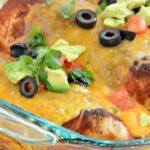 Enchilada Chicken Bake