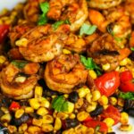 Southwest Shrimp Succotash