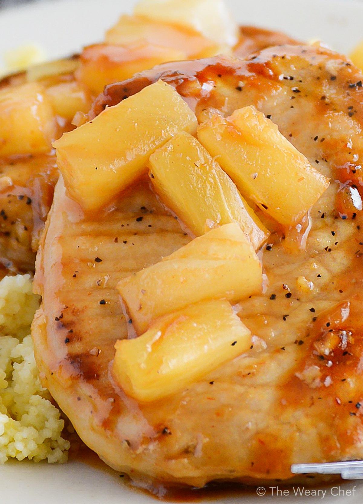 pork loin chops pineapple juice recipe Pineapple Pork Chops