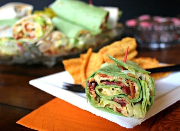 BLT Wraps - Live Love and Good Food