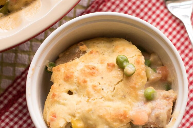 This pork pot pie is SO easy to make, and your entire family will love it!