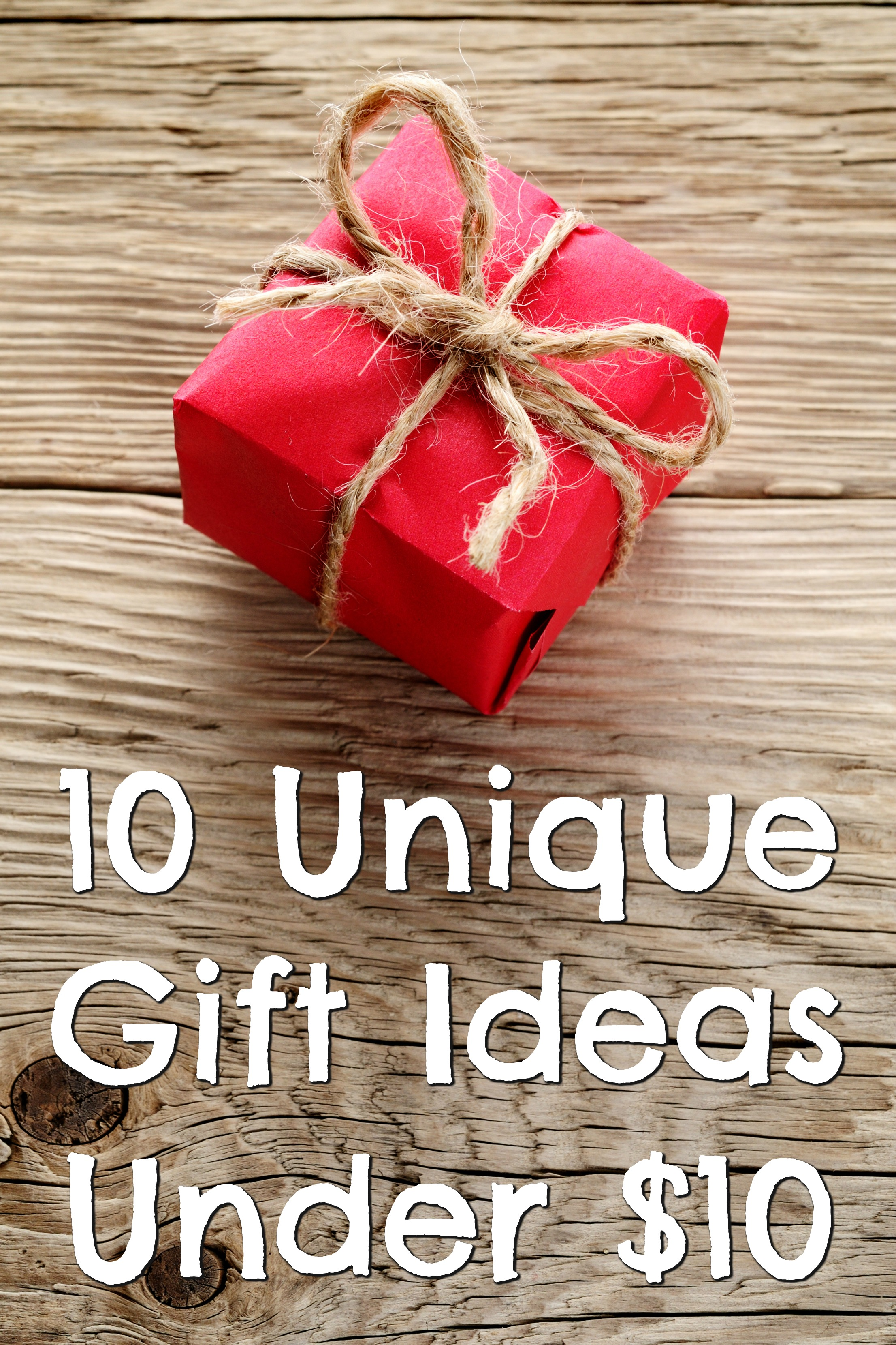 Gifts under 10 dollars for christmas