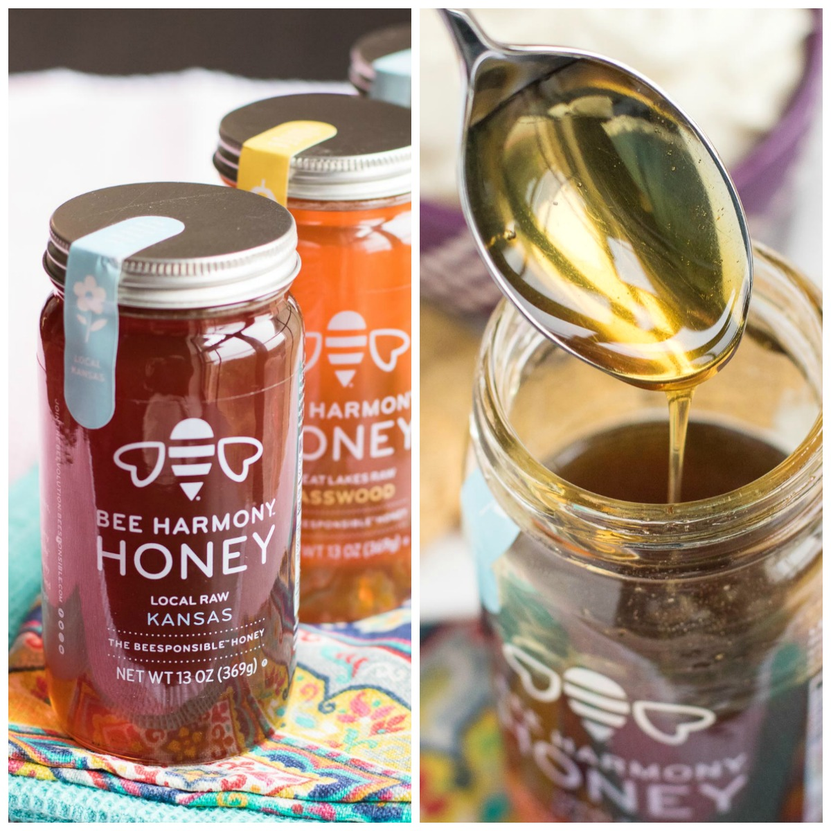Bee Harmony is the #beesponsible #honey!