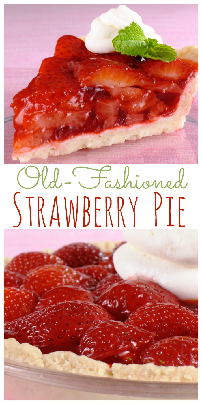 Old Fashioned Fresh Strawberry Pie