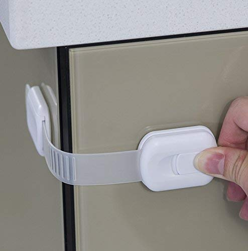 child safety lock strap for dishwashers