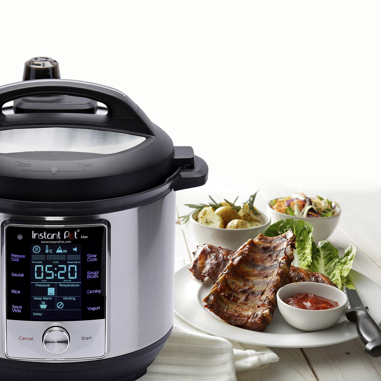 instant pot max 6 quart cooker