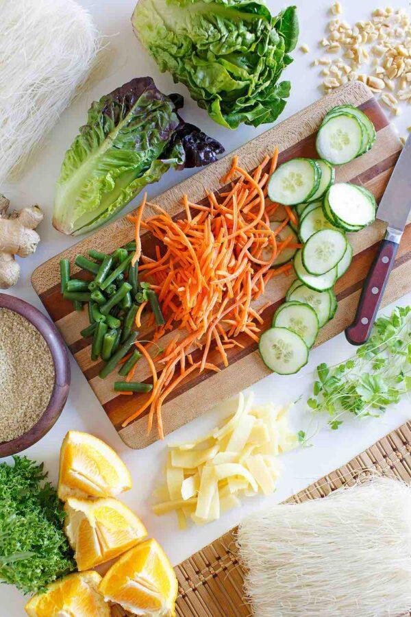 Asian Sesame Noodle Salad