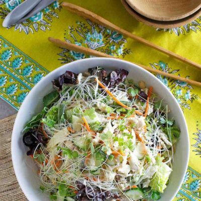 Asian Sesame Noodle Salad