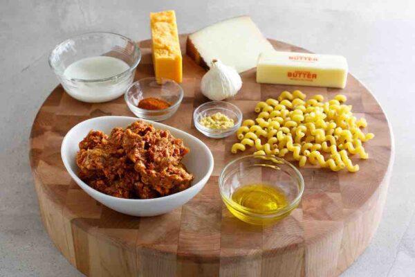 Chorizo Mac n Cheese recipe