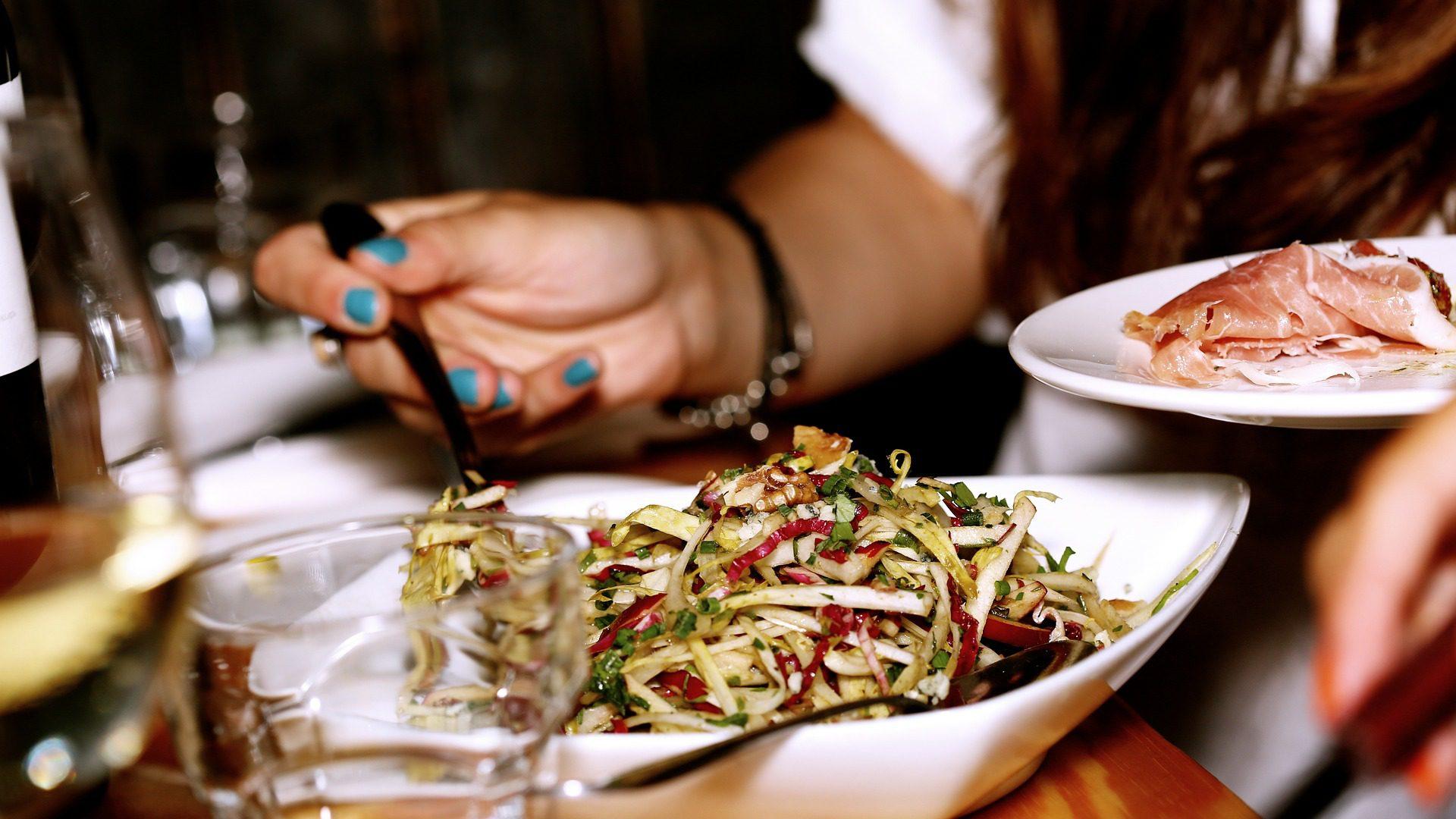 salad meal dinner