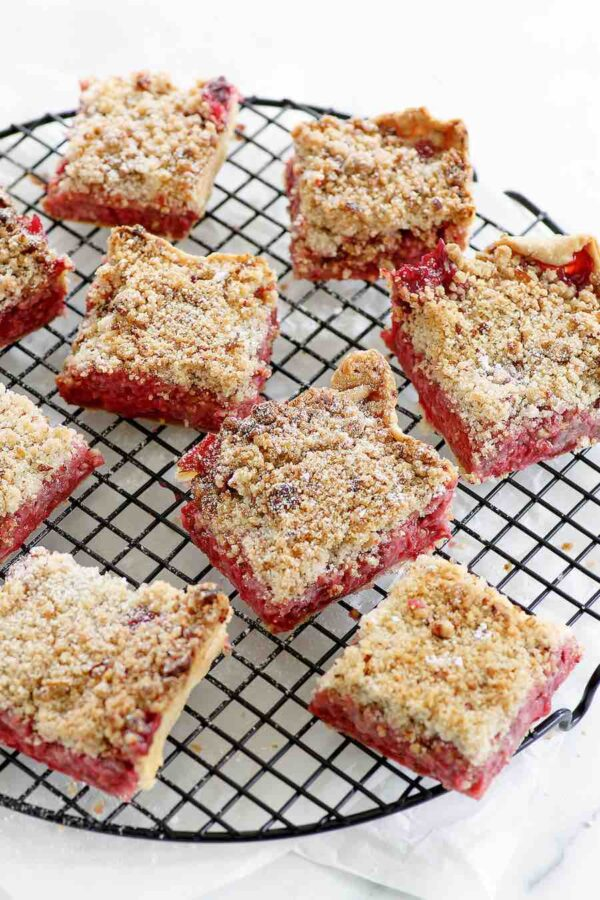 Raspberry Crumble Bars recipe