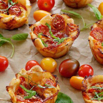 Tomato Tarts recipe